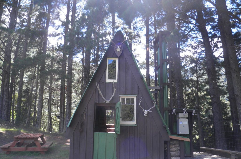Barry Crump's A-Frame Hut Restored